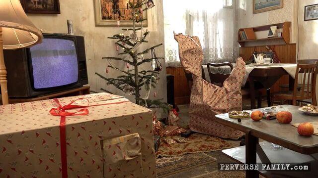 Сумасшедшее Новогоднее порно с сюрпризами от Деда Мороза