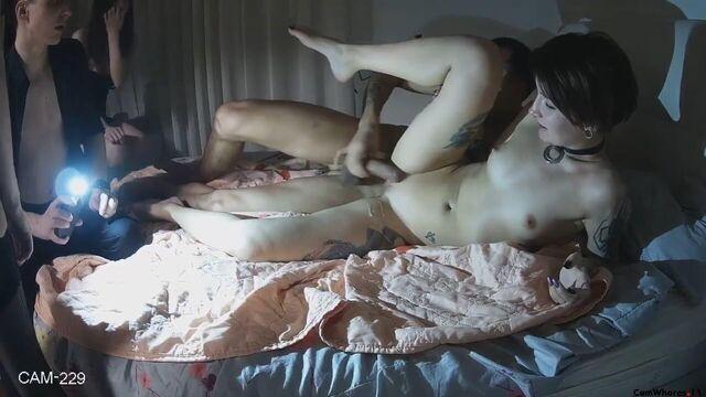 Любительская групповая секс оргия молодых