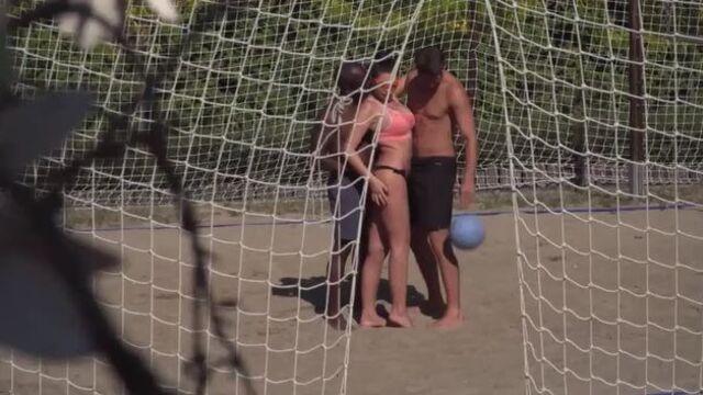 Пляжный Волейбол: Анальное соревнование (порно фильм с русским переводом)