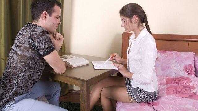 Русское студенческое порно во время изучения английского