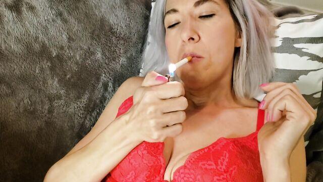 курящая вагина