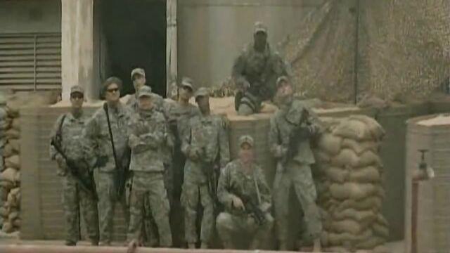 американские солдаты трахнули девушку в Ираке