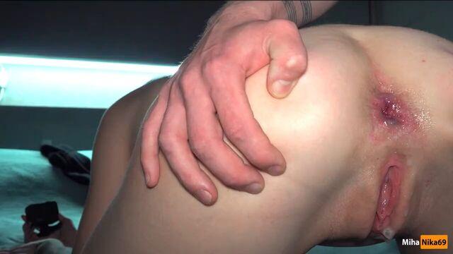 Русское порно - анальный секс с MihaNika69