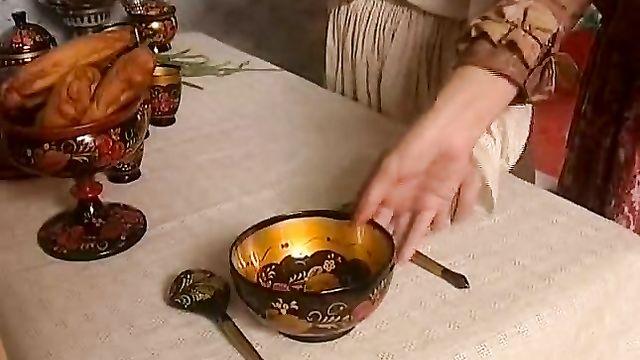 Бабушкины сказки. Колобок - русский порно фильм