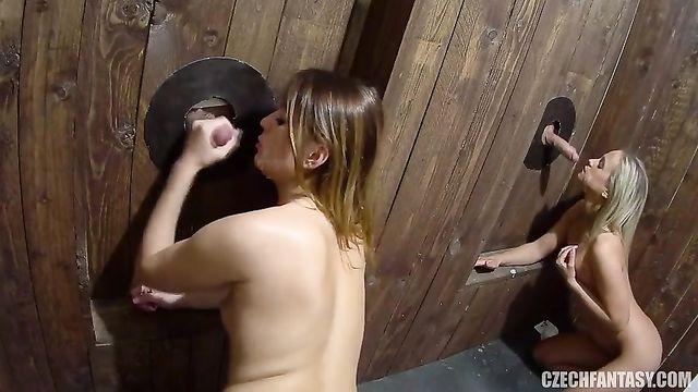 Чешское групповое порно в платном публичном доме Czech Fantasy 7