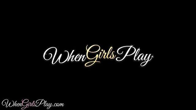 Когда девушки входят в азарт