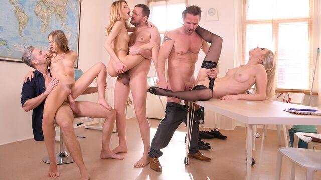 Компиляция жесткого порно видео с большими членами