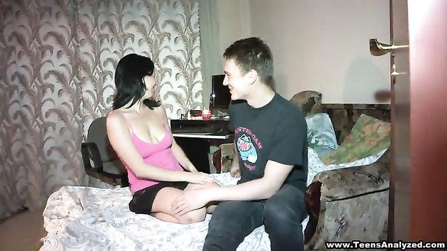 Страстное порно в анал русской пары
