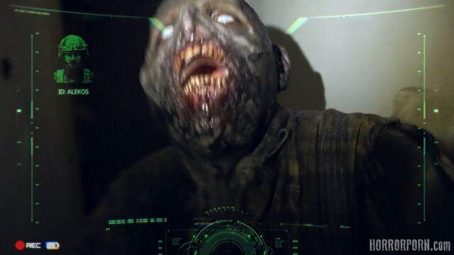 3D порно: Зомби и девушка