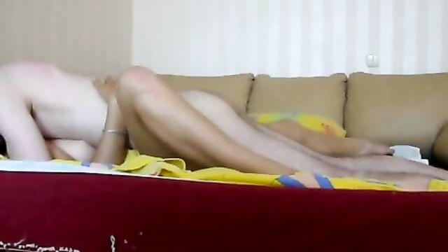 Частное любительское порно от русской пары