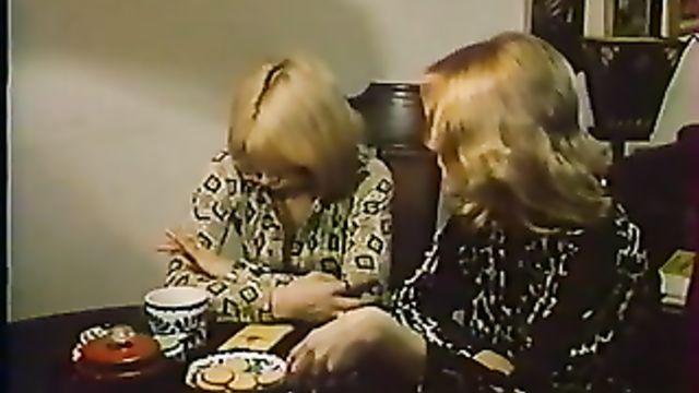 Очередной старинный коллекционный ретро порно фильм