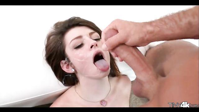 Сборник порно видео роликов офигенных минетов №2