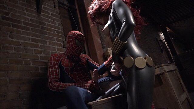 Человек-Паук: ХХХ Пародия с русским переводом / Spider-Man XXX: A Porn Parody