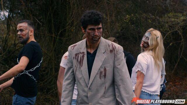 Ходячие мертвецы: Рик трахает Мишон / Walking Dead XXX Parody