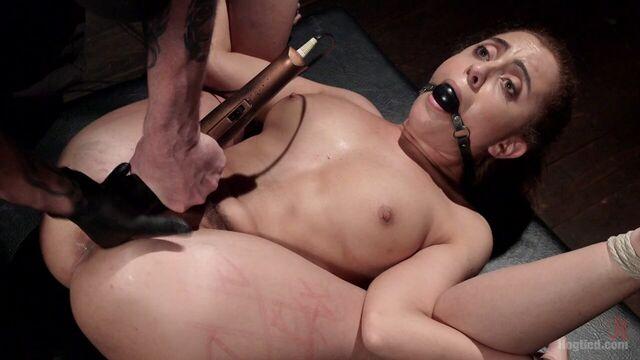 Полный бондаж, доминирование и оттягивание оргазма