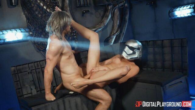 Звездные Войны: Последнее Искушение — порно пародия
