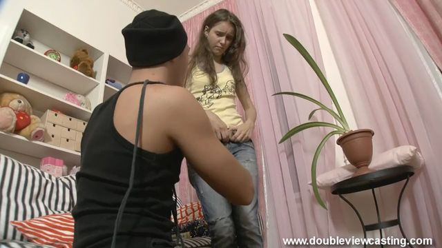 Анальный секс с молодой русской 19-ти летней красоткой в квартире