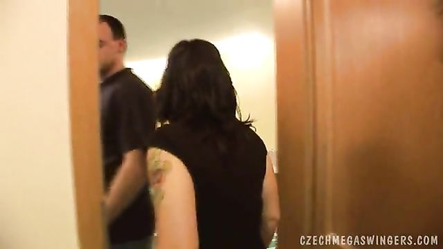 Массовое сборище чешских свингеров для жаркого секса!
