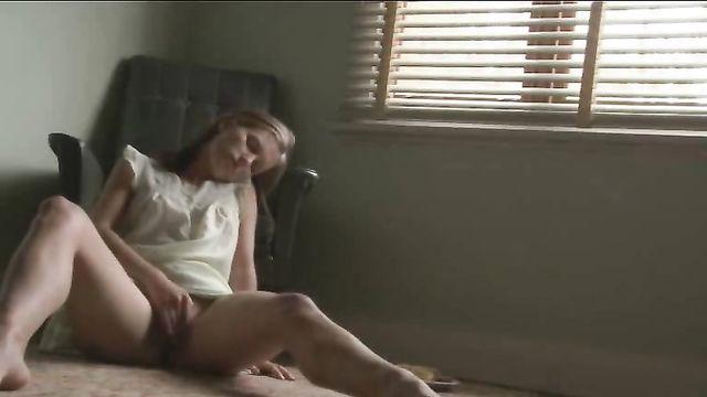 Частное домашнее любительское порно: оргазм