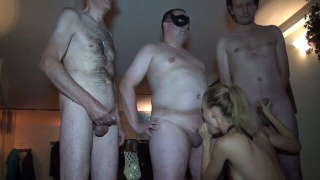 Наталья Немчинова Gangbang Party - полное порно видео