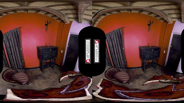 Виртуальное VR порно со сказочной блондинкой эльфом