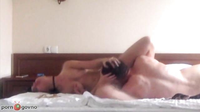 Домашнее порно одной русской парочки