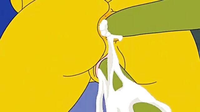 Мультфильм для взрослых Хардкорный Хэллоуин Симпсонов