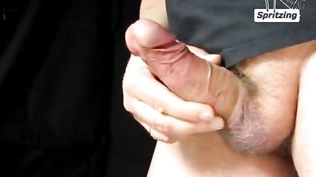 Замедленная съемка мужского оргазма, Slow Motion видео