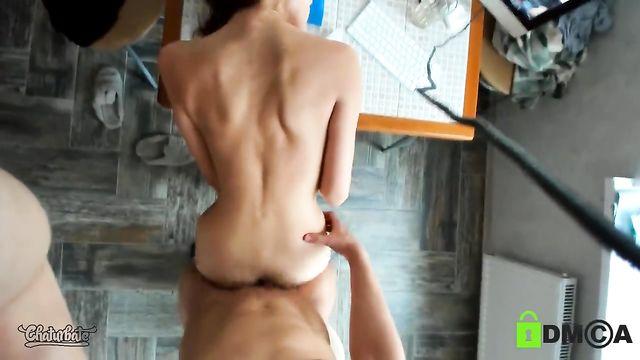 Молодая пара показывает мастер класс анального секса