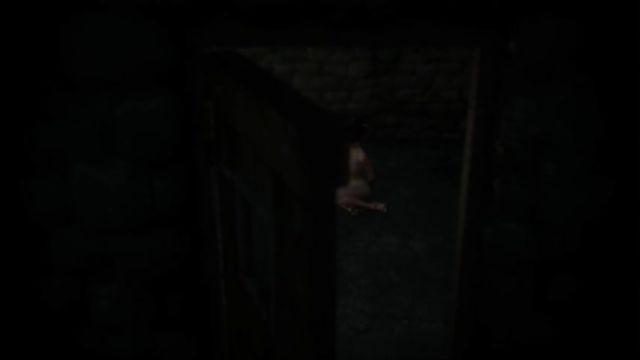 2 чудовища жестко прокачали все щели узницы спермой