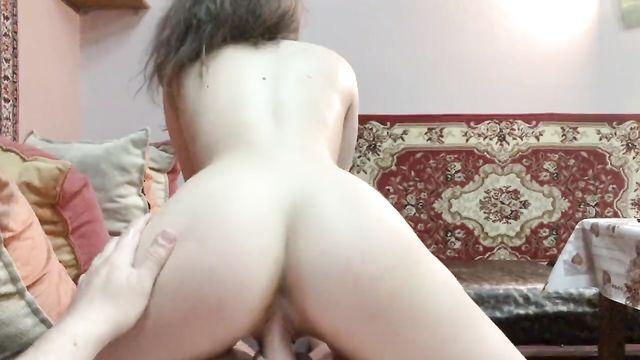 Сексуальные воображения молодой русской парочки