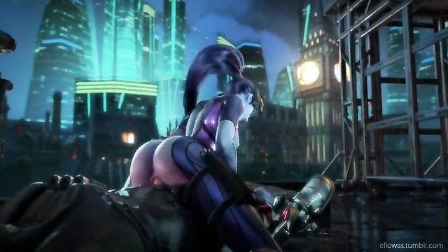 Нарезка, сборник мультяшных анимационных порно роликов