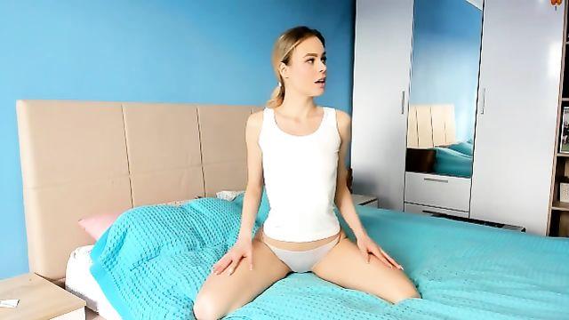Красивое русское порно с молоденькой парочкой