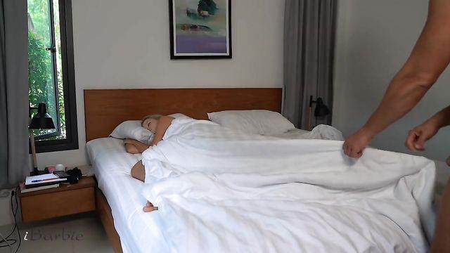 Доброе утро дорогая... Пора просыпаться на утренний секс!