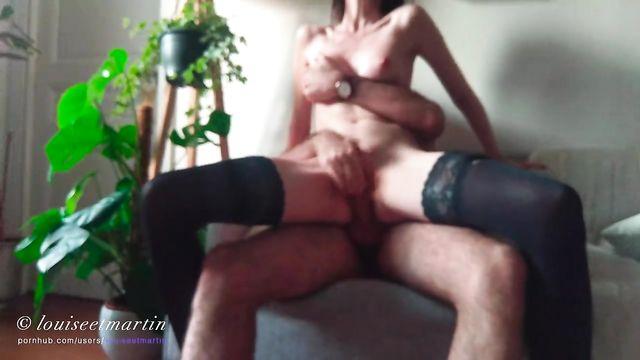 Домашнее порно: Трахни меня в очко! Хочу в задницу! Давай наяривай!