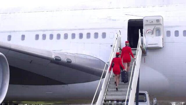 Стюардессы / The Flight Attendants [Marc Dorcel] с русским переводом
