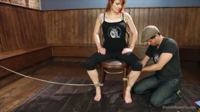 BDSM видео урок №5. Шибари, часть 1 (с русским переводом)