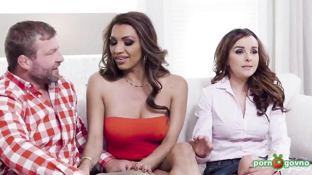 Джесси Дубай,  Натали Марс и Цитерия - групповой секс втроем
