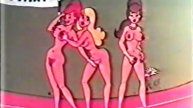 Белоснежка и 7 Гномов (1973) порно мульт для взрослых с русским переводом