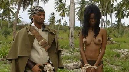 Приключения Робинзона Крузо на острове греха (с русским переводом)