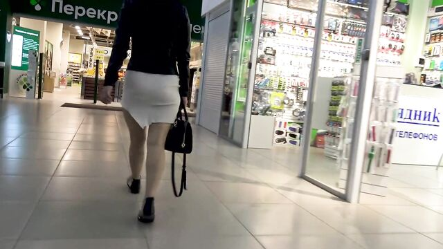Русское порно: Публичные засветы в супермаркете