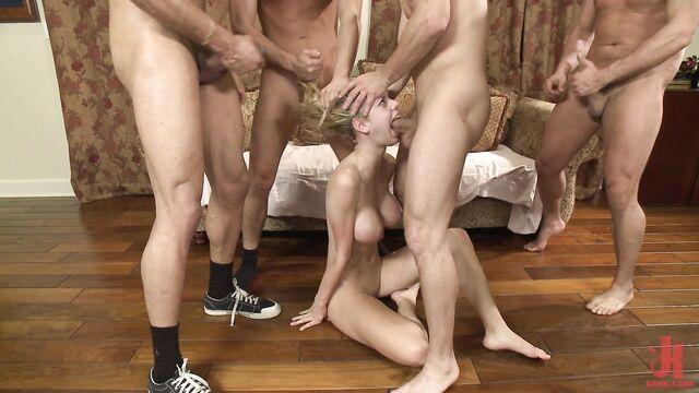 Грубый групповой беспредельный секс с Джесси (Remastered)